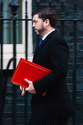 Downing Street, London, January 20th 2015. Ministers attend the weekly cabinet meeting at Downing Street. PICTURED: Welsh Secretary Stephen Crabb