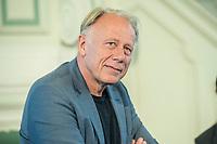 27 JUN 2017, BERLIN/GERMANY:<br /> Juergen Trittin, MdB, B90/Gruene, Bundesumweltminister a.D., 25. bbh-Energiekonferenz &quot;Letzte Ausfahrt Dekarbonisierungf Energie- und Mobilit&auml;tswende&quot;,<br /> Franz&ouml;sischer Dom<br /> IMAGE: 20170627-01-100<br /> KEYWORDS: J&uuml;rgen Trittin