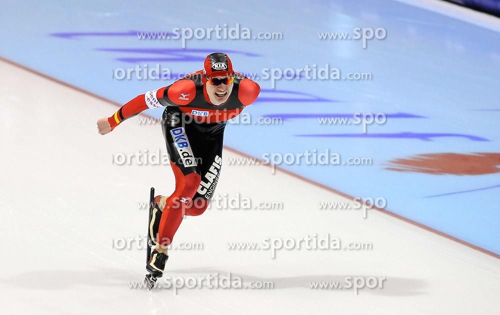 13.03.2010,  SCHAATSEN, Heerenveen, NL,  WORLDCUP FINALE im Bild  Patrick Beckert GER EXPA Pictures © 2010, PhotoCredit: EXPA/ nph/  Hoogendoorn