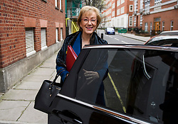 © Licensed to London News Pictures. 20/03/2019. London, UK. ANDREA LEADSOM is seen living her home in Westminster, London. British Prime Minster Theresa May is reportedly due to write to EU leaders to ask for an extension to Article 50 following Parliament's failure to approve the proposed withdrawal agreement. Photo credit: Ben Cawthra/LNP