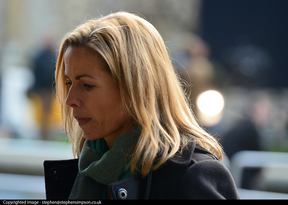 © Licensed to London News Pictures. 29/11/2012. Westminster, UK Kate McCann mother of missing child Madeleine McCann outside the Leveson Inquiry today 29th November 2012. Photo credit : Stephen Simpson/LNP