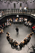 Photo by Mara Lavitt<br /> October 28, 2017<br /> Yale University, New Haven, CT<br /> Photography: &copy;Mara Lavitt<br /> The dedication celebration of the Lighten Theater at Pauli Murray College, Yale. The theater was dedicated in the memory of Janifer Funches Lighten, '83.