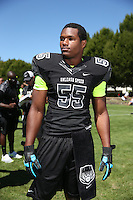 Da'Shawn Hand at The Opening on July 3, 2013 at the Nike World Headquarters  in Portland, Oregon.