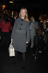 KATE REARDON at a party to celebrate the launch of Holly Peterson's debut novel 'The Manny' held at Selfridges, Oxford Street, London on 26th February 2007.<br />