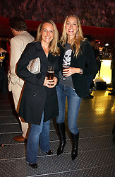 Left to right, VALERIE ING and HEIDI BISHOP at a party to celebrate the launch of Pilsner Urquell beer held in the Pavillion at The Serpentine Gallery, London on 4th October 2006.<br /><br />NON EXCLUSIVE - WORLD RIGHTS