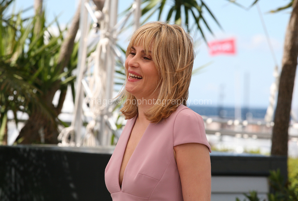 Actress Emmanuelle Seigner at Venus in Fur - La Venus A La Fourrure Photocall Cannes Film Festival On Saturday 26th May May 2013
