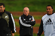 All Black coach Graham Henry.<br /> All Blacks Training Session at Rugby League Park, Newtown, Wellington. Tuesday 3 June 2008. Photo: Dave Lintott/PHOTOSPORT