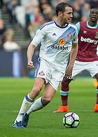 Football - 2016 / 2017 Premier League - West Ham United vs. Sunderland<br /> <br /> John O'Shea of Sunderland at The London Stadium.<br /> <br /> COLORSPORT/DANIEL BEARHAM