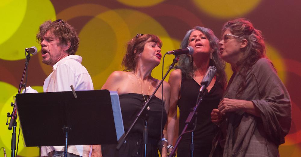 David Johansen with Jenni Muldaur, Mara Hennessey, Victoria Williams