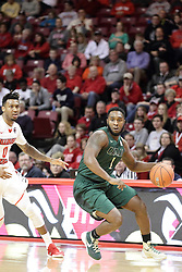05 December 2015: Denzell Watts passes Nick Banyard(0) and looks for a bucket approach. Illinois State Redbirds host the University of Alabama - Birmingham Blazers at Redbird Arena in Normal Illinois (Photo by Alan Look)