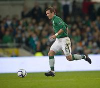 Fussball International, Nationalmannschaft   EURO 2012 Play Off, Qualifikation, Irland - Estland 15.11.2011 Glenn WHELAN (IRL)