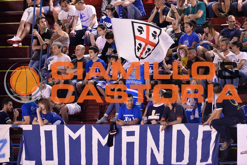 DESCRIZIONE : Campionato 2013/14 Semifinale GARA 5 Olimpia EA7 Emporio Armani Milano - Dinamo Banco di Sardegna Sassari<br /> GIOCATORE : Commando Ultra' Dinamo<br /> CATEGORIA : Tifosi Ultras Pubblico<br /> SQUADRA : Dinamo Banco di Sardegna Sassari<br /> EVENTO : LegaBasket Serie A Beko Playoff 2013/2014<br /> GARA : Olimpia EA7 Emporio Armani Milano - Dinamo Banco di Sardegna Sassari<br /> DATA : 07/06/2014<br /> SPORT : Pallacanestro <br /> AUTORE : Agenzia Ciamillo-Castoria / GiulioCiamillo<br /> Galleria : LegaBasket Serie A Beko Playoff 2013/2014<br /> Fotonotizia : Campionato 2013/14 Semifinale GARA 5 Olimpia EA7 Emporio Armani Milano - Dinamo Banco di Sardegna Sassari<br /> Predefinita :