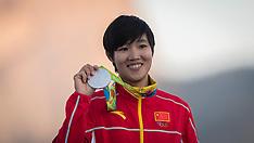 2016 Rio Peina Chen Olympic Silver Medal