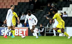 Kieran Agard of Milton Keynes Dons runs with the ball - Mandatory by-line: Robbie Stephenson/JMP - 18/10/2016 - FOOTBALL - Stadium MK - Milton Keynes, England - Milton Keynes Dons v Bristol Rovers - Sky Bet League One