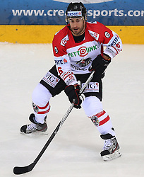 07.02.2015, Albert Schultz Eishalle, Wien, AUT, IIHF, Euro Ice Hockey Challenge, Oesterreich vs Slovakei, im Bild Rafael Rotter (Oesterreich, AUT) // during the IIHF Euro Ice Hockey Challenge match between Austria and Slovakia at the Albert Schultz Ice Arena, Vienna, Austria on 2015/02/07. EXPA Pictures © 2015, PhotoCredit: EXPA/ Thomas Haumer