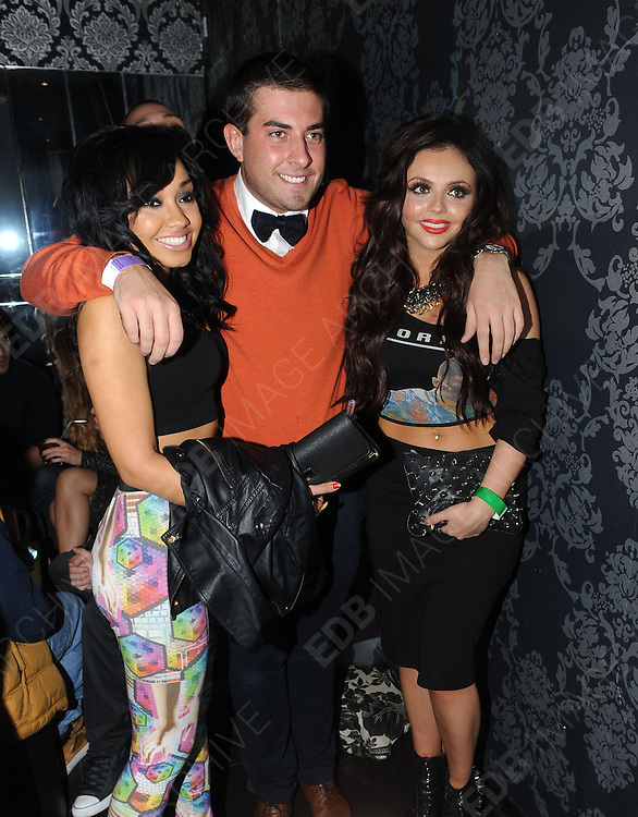 09.DECEMBER.2012. LONDON<br /> <br /> LEIGH-ANNE PINNOCK, JESY NELSON AND JAMES ARGENT AT THE X-FACTOR FINAL AFTERPARTY AT BIJOUS NIGHT CLUB IN MANCHESTER.<br /> <br /> BYLINE: EDBIMAGEARCHIVE.CO.UK<br /> <br /> *THIS IMAGE IS STRICTLY FOR UK NEWSPAPERS AND MAGAZINES ONLY*<br /> *FOR WORLD WIDE SALES AND WEB USE PLEASE CONTACT EDBIMAGEARCHIVE - 0208 954 5968*