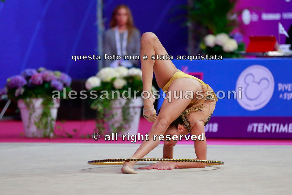 Aghamirova Zohra is an Azeri rhythmic gymnastics athlete born in Baku in 2001.<br />
