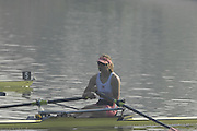Hazewinkel, BELGIUM, W1X, a dissapointed, Anna BEBBINGTON after the  A Final, of the Women's  Single Sculls, at the GB Rowing Senior Trials, on Mon 16.04.2007  [Credit, Peter Spurrier/Intersport-images]   [Mandatory Credit, Peter Spurier/ Intersport Images]. , Rowing Course, Bloso, Hazewinkel. BELGUIM