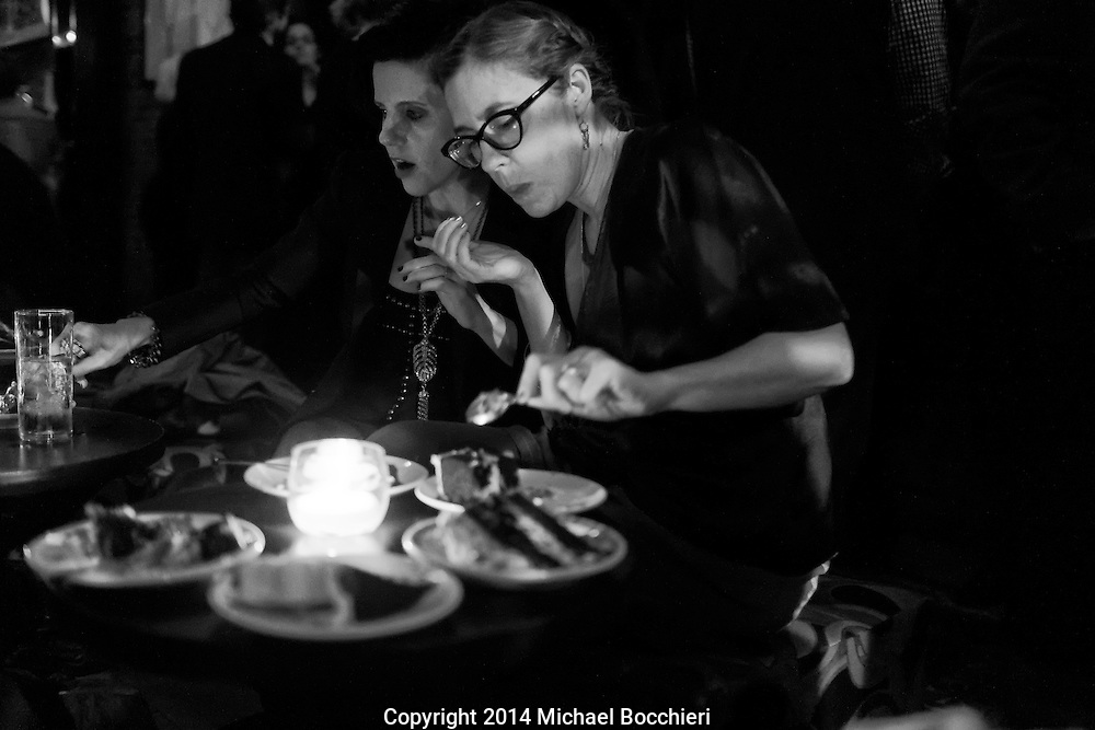 NEW YORK, NY - October 25:  Carey's birthday at Bubble Lounge on October 25, 2014 in NEW YORK, NY.  (Photo by Michael Bocchieri/Bocchieri Archive)