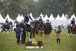 Funnell Pippa, GBR, Billy Walk On<br /> World Championship Young Eventing Horses<br /> Mondial du Lion - Le Lion d'Angers 2016<br /> © Hippo Foto - Dirk Caremans<br /> 23/10/2016
