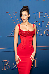Bella Hadid arriving for the Bulgari XX 20th anniversary party in Rome