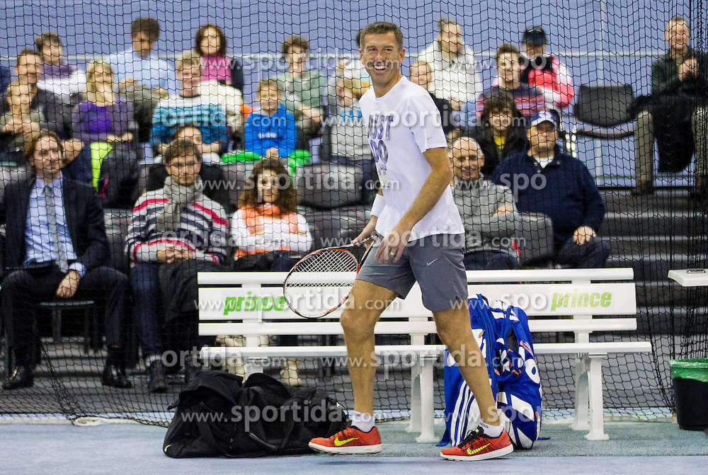 Srecko Katanec at Tennis exhibition day and Slovenian Tennis personality of the year 2013 annual awards presented by Slovene Tennis Association TZS, on December 21, 2013 in BTC City, TC Millenium, Ljubljana, Slovenia.  Photo by Vid Ponikvar / Sportida