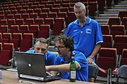 Danzica - Polonia 05 Agosto 2012 - TORNEO INTERNAZIONALE SOPOT CUP - Allenamento<br /> Nella Foto : CUZZOLIN FIORETTI PITTIS<br /> Foto Ciamillo
