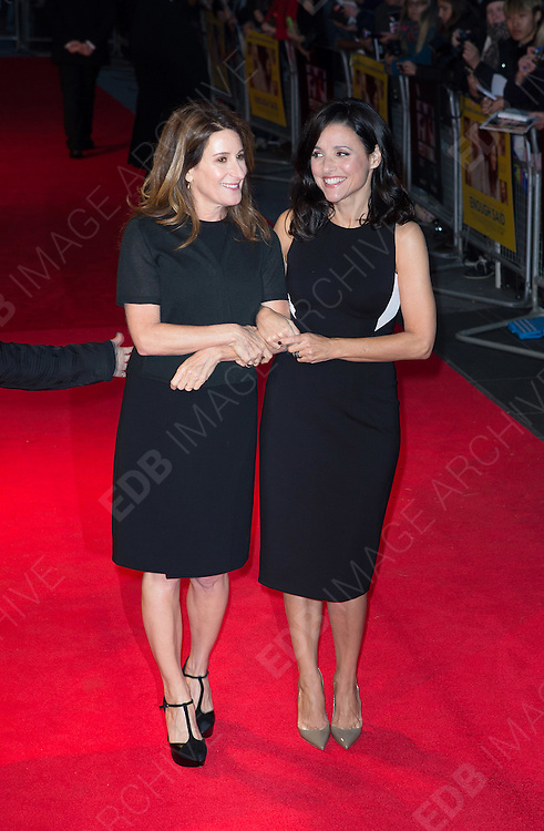 12.OCTOBER.2013. LONDON<br /> <br /> (CODE AFI)<br /> THE 'ENOUGH SAID' SCREENING AT 57TH BFI LONDON FILM FESTIVAL<br /> <br /> BYLINE: EDBIMAGEARCHIVE.CO.UK<br /> <br /> *THIS IMAGE IS STRICTLY FOR UK NEWSPAPERS AND MAGAZINES ONLY*<br /> *FOR WORLD WIDE SALES AND WEB USE PLEASE CONTACT EDBIMAGEARCHIVE - 0208 954 5968*