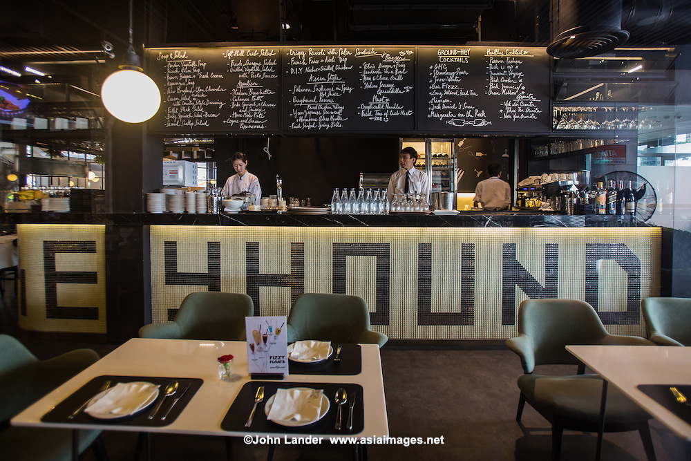 Greyhound Restaurant, Bangkok first launched in 1980, Greyhound Cafe in Bangkok has become a well known small chain with seven branches in Bangkok and one in Hong Kong as well.
