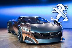 Concept car Peugeot Onyx at Paris Motor Show 2012