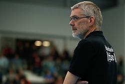 20180303 NED: Eredivisie Sliedrecht Sport - VC Sneek, Sliedrecht <br />Ruud de Wit, interim headcoach VC Sneek <br />&copy;2018-FotoHoogendoorn.nl / Pim Waslander
