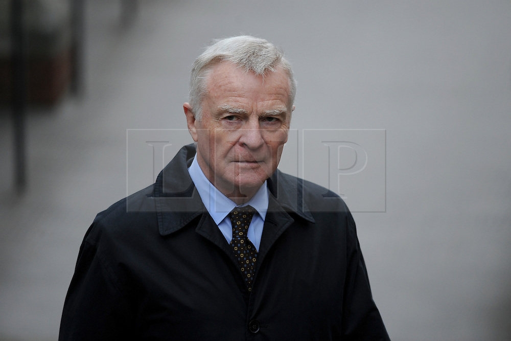 © London News Pictures. 21/11/2011. London, UK.  Max Mosley  arriving at The Royal Courts of Justice today (21/11/2011) to give evidence at the Leveson Inquiry into press standards. The inquiry is being lead by Lord Justice Leveson and is looking into the culture, and practice of the UK press. The Leveson inquiry, which may take a year or more to complete, comes after The News of The World Newspaper was closed following a phone hacking scandal. Photo credit : Ben Cawthra/LNP