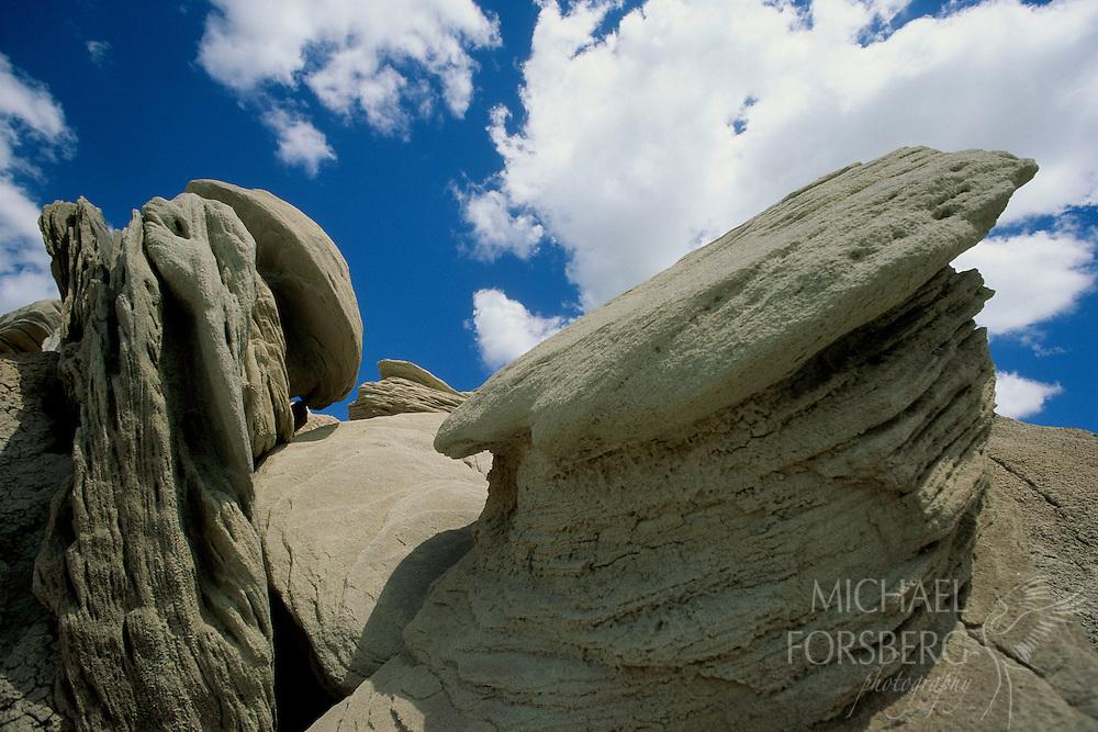 Toadstool Park rock formations. Ogalala National Grasslands, Sioux County, Nebraska.