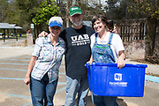 Keep Abita Beautiful cleanup day; March 10, 2018 in Abita Springs Park; photo ©2018, George H. Long