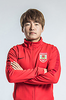**EXCLUSIVE**Portrait of Chinese soccer player Li Shang of Changchun Yatai F.C. for the 2018 Chinese Football Association Super League, in Wuhan city, central China's Hubei province, 22 February 2018.