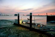 Fast Ferry platform Pistoolhaven at Europoort, Port of Rotterdam. © Holland Kodak Ektar serie