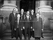 Deputation from Licensed Grocery and Vintners to Dr. James Ryan, Minister of Finance.<br /> 06.04.1961