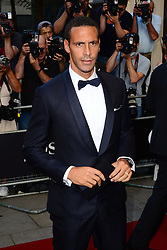 GQ Men of the Year Awards 2013.<br /> Rio Ferdinand during the GQ Men of the Year Awards, the Royal Opera House, London, United Kingdom. Tuesday, 3rd September 2013. Picture by Nils Jorgensen / i-Images