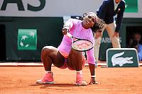 Serena WILLIAMS  - 01.06.2015 - Jour 9 - Roland Garros 2015<br /> Photo : Nolwenn Le Gouic / Icon Sport