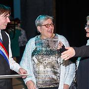 NLD/Haarlem/20171230 - Uitreiking Mary Dresselhuysprijs 2017, Steef de Jong met familie