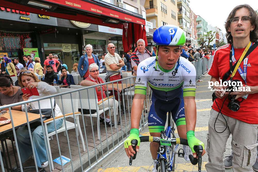 Tour of Turkey 2015 / Stage 1/ Alanya - Alanya/ 144.8km/ Caleb Ewan/ Orica Greenedge