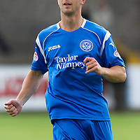 St Johnstone FC.... Season 2010-11<br /> Chris Millar<br /> Picture by Graeme Hart.<br /> Copyright Perthshire Picture Agency<br /> Tel: 01738 623350  Mobile: 07990 594431