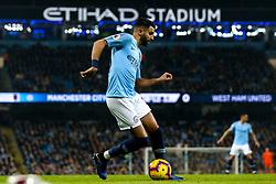 Riyad Mahrez of Manchester City - Mandatory by-line: Robbie Stephenson/JMP - 27/02/2019 - FOOTBALL - Etihad Stadium - Manchester, England - Manchester City v West Ham United - Premier League