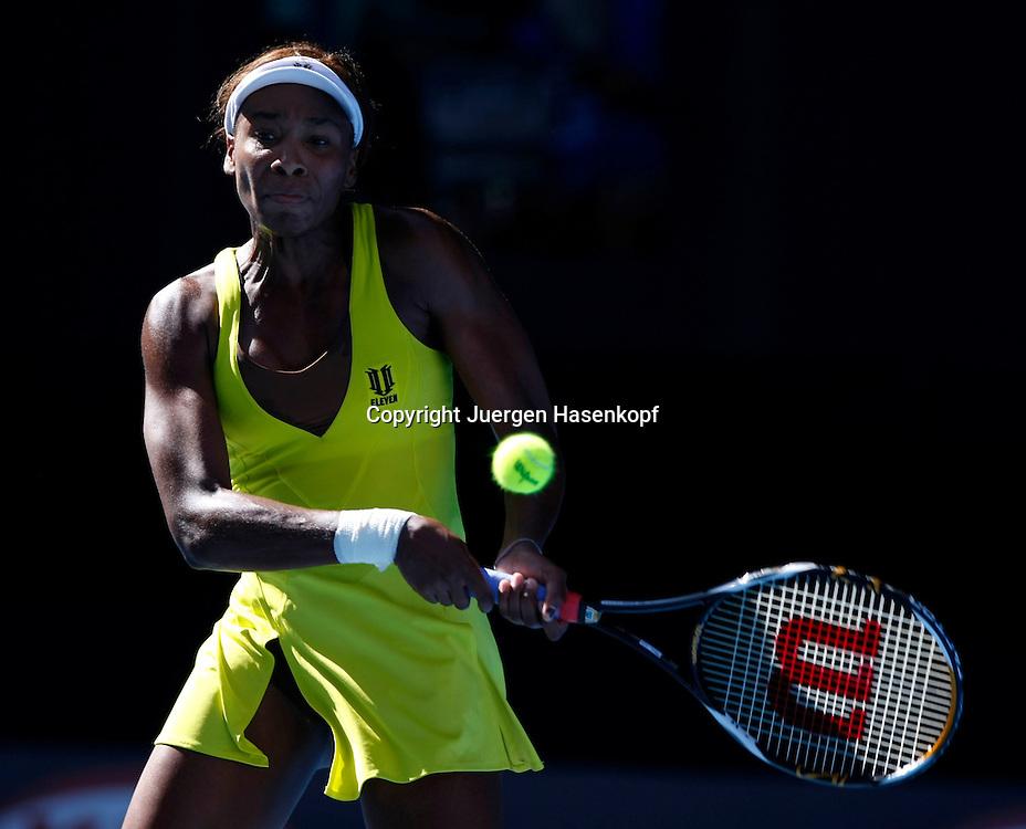 Australien, Melbourne, Sport, Tennis, Grand Slam Tournament, Melbourne Park, Australian Open 2010,..Venus Williams (USA)..Foto: Juergen Hasenkopf..