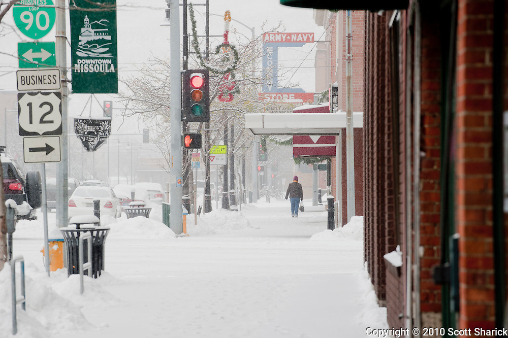 Downtown Missoula was pretty quiet on this Thanksgiving morning. Missoula Photographer, Montana Photographer, Pictures of Missoula, Montana Photos