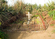 Mother and child graves, Island of Herm, Channel Islands, Great Britain