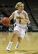 19 February 2009: Iowa guard Kamille Wahlin (2) during the first half of an NCAA women's college basketball game Thursday, February 19, 2009, at Carver-Hawkeye Arena in Iowa City, Iowa. Iowa defeated Wisconsin 72-65.