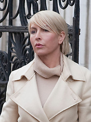 © Licensed to London News Pictures. 09/02/2012. London, UK. Heather Mills leaving the Royal Courts of Justice on February 9th, 2012 after giving evidence at the Leveson Inquiry in to press standards.. Photo credit : Ben Cawthra/LNP