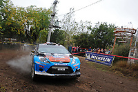 MOTORSPORT - WRC 2012 - ARGENTINA RALLY - CORDOBA  - 26 TO 29/04/2012 - PHOTO : ERIC VARGIOLU / DPPI - <br /> 10 OSTBERG MADS (NOR)/ ANDERSSON JONAS (NOR)- FORD FIESTA RS WRC - ACTION