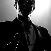 Salsa singer and actor, Marc Anthony,  live from Panama City, Panama. (FOR COLOR IMAGES OF THE CONCERT, PLEASE CONTACT THE PHOTOGGRAPHER)